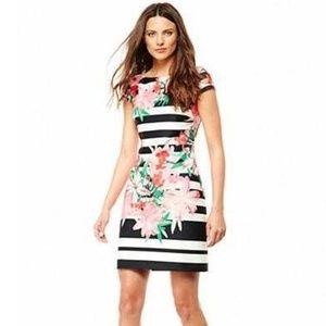 Vince Camuto Floral Dress Size 6
